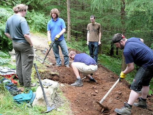 Digging a Drain - Lombard Street