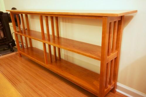 Mission-style Bookshelf