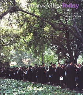 Hailing Pomona College's 100th graduating class, the Class of 1993, on the cover of the Summer 1993 issue of Pomona College Today