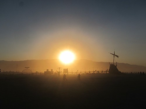 Sunset on the playa | by jetsetwhitetrash