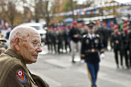 Veterans Day Parade   by Scott Van Schoiack