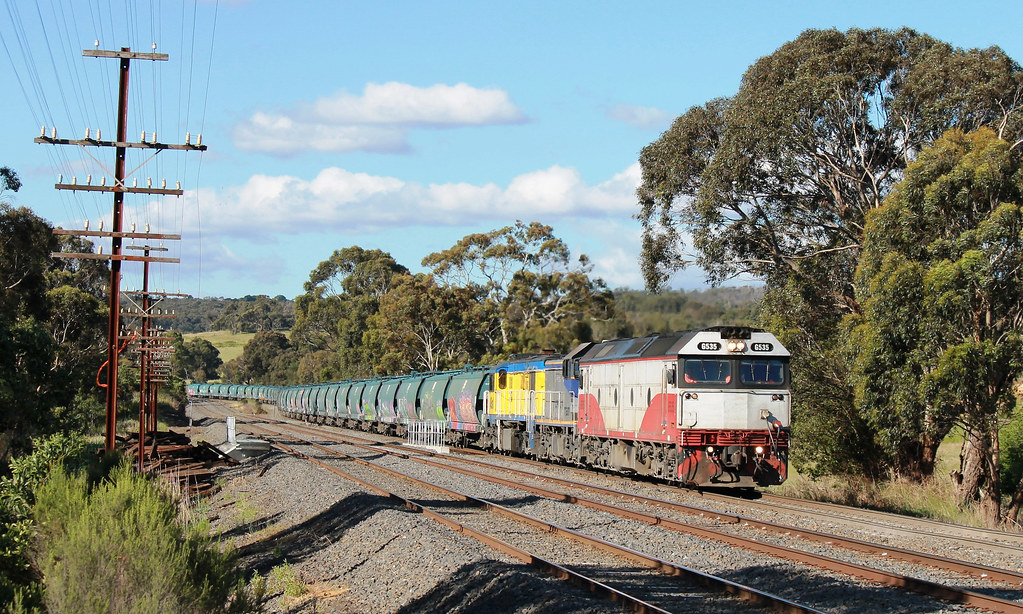 G535-T387-45s1 near Heathcote Junction by S312 Photography