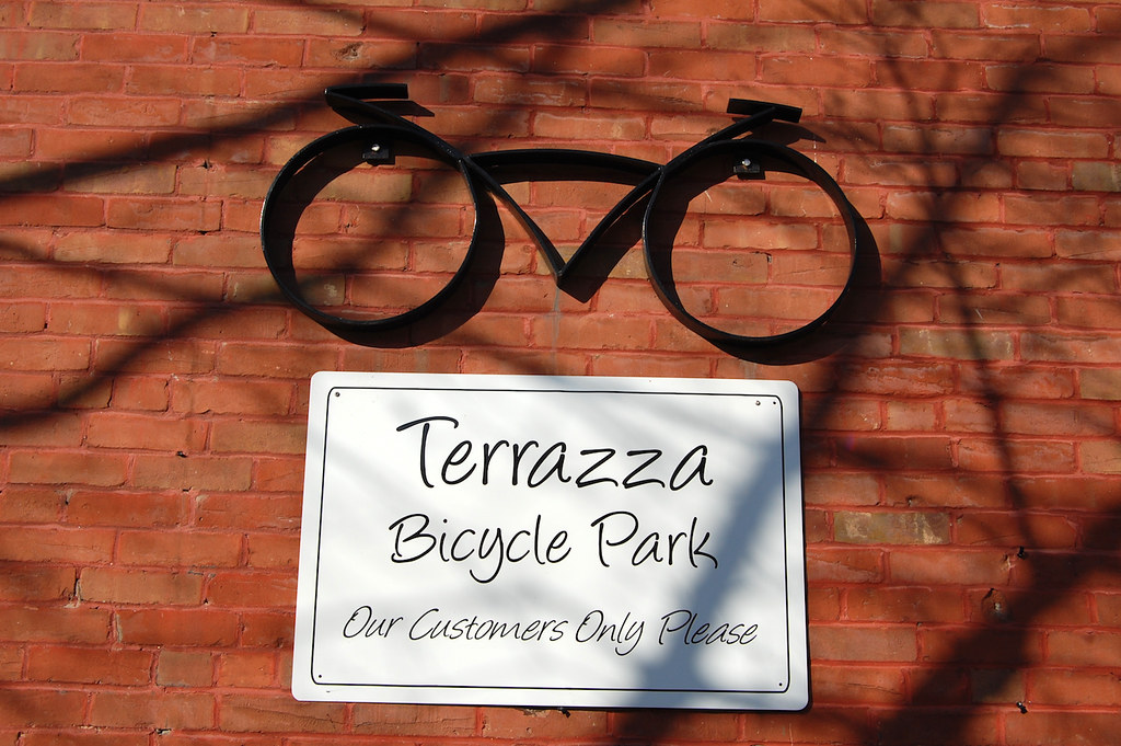 Terrazza Bicycle Park This Bicycle Park Belongs To The Ter