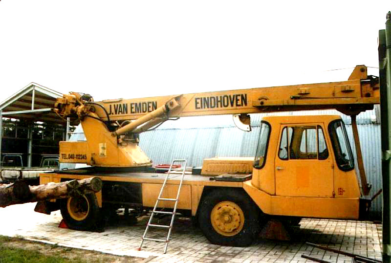 coles hydra truck crane
