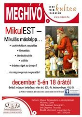 2012. december 1. 23:30 - Télapóvárás a Magyar Kereskedelmi és vendéglátóipari múzeumban. 2012. december 5-én