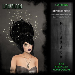 Hair Fair 2016 - The Stringer Mausoleum - Lightbloom