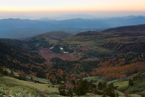 autumn fall sunrise landscape 2012 gunmapref kunimura 渋峠 shibupass nakanojotown