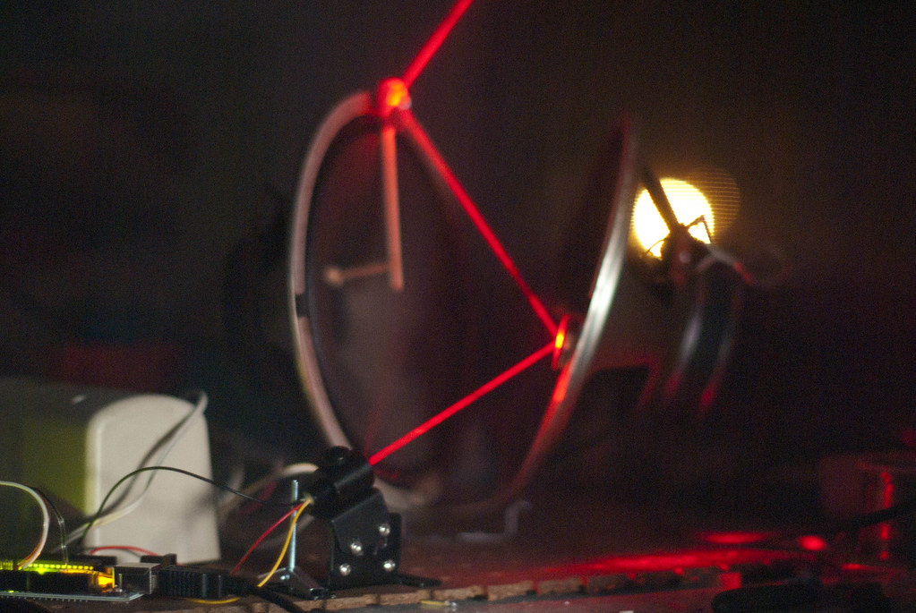 Another DIY-Galvanometer Laser Show | Using the Adafruit TTL