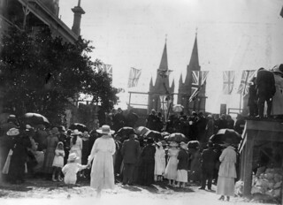 Foundation stone ceremony for the Methodist Memorial Hospital, North Adelaide