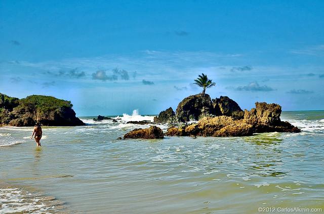 Praia de Tambaba - Paraíba