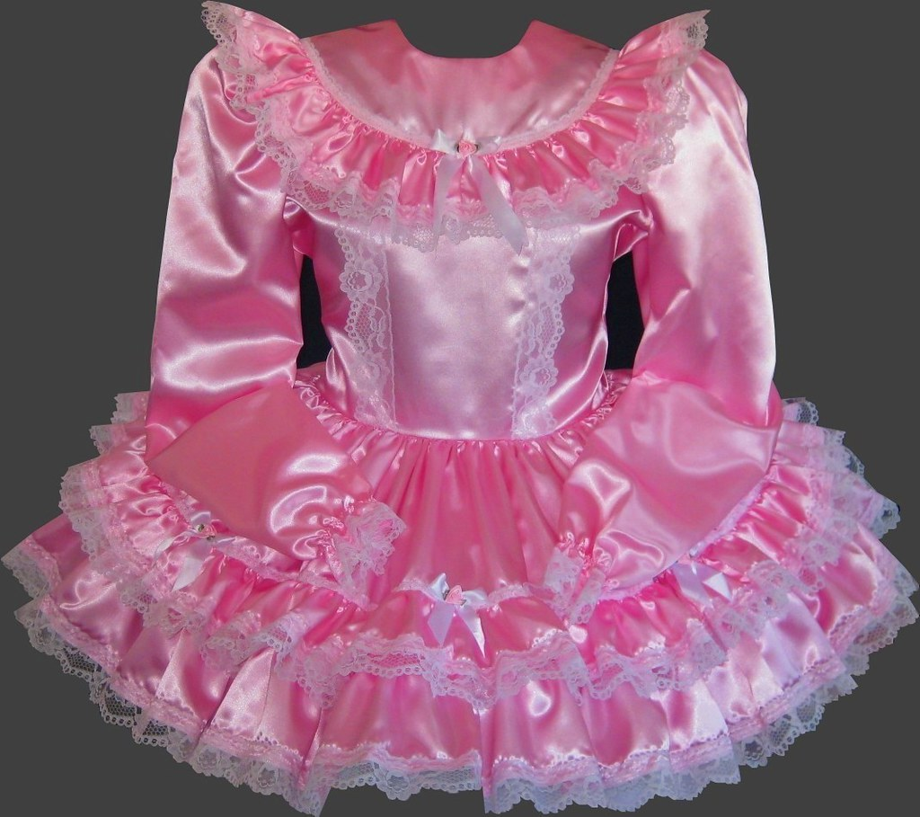 Hot Pink Custom Sissy Dress I Would Love For You To Buy