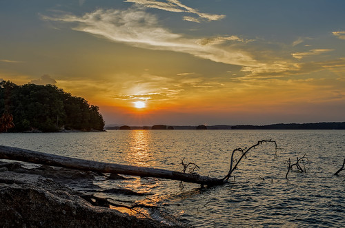 sunset lakelanier lake lanier park vanpughpark