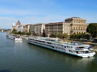 Pest and the Danube River | by SerenadeS