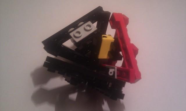 How to make a Lego Tetrahedron 7