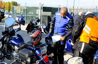 U.S. Army Africa HQ Battalion sponsors VeteranssDay Safety motorcycle ride | by US Army Africa