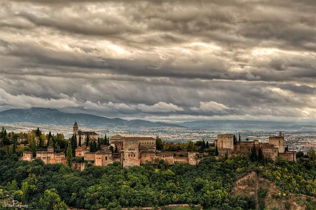 Alhambra desde El Sacromonte.
