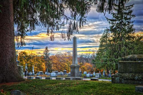 sunset ny newyork tree cemetery photoshop canon eos saratoga upstate victory adobe hdr highdynamicrange cs6 canonefs1755mmf28isusm 60d schuylerville sdny topazadjust samanthadecker