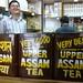 Vendeur de thé sympathique à Katmandu