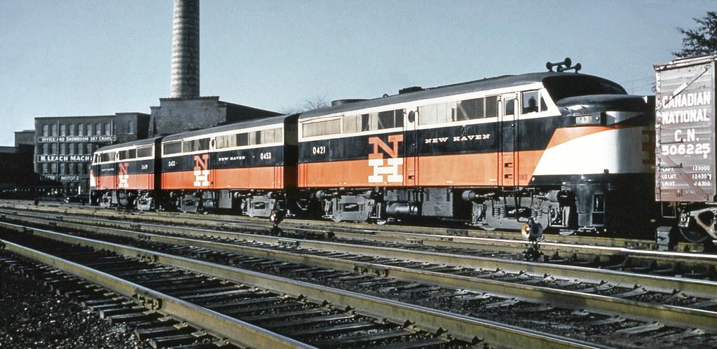 New Haven Railroad Der 2 Series 3 Unit Set Of Alco Fa 1s Flickr