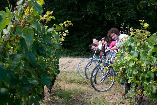 Randonnée à vélo entre amis dans le Coeur Val de Loire
