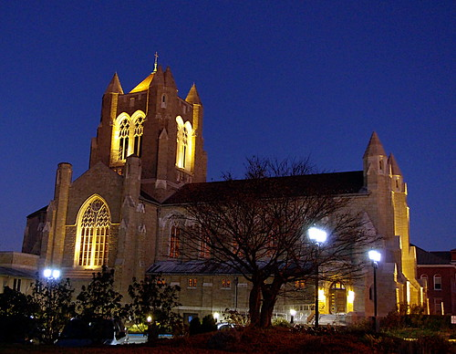 morning light church sunrise glow cathedral greensburg blessed sacrament westmoreland