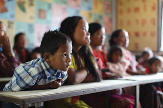 Nutrition education seminar in Bandarkharka, Nepal | by Bread for the World