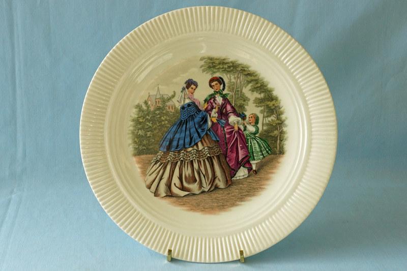DSC01301 Salem Godey Plate with Victorian Fashion Ladies