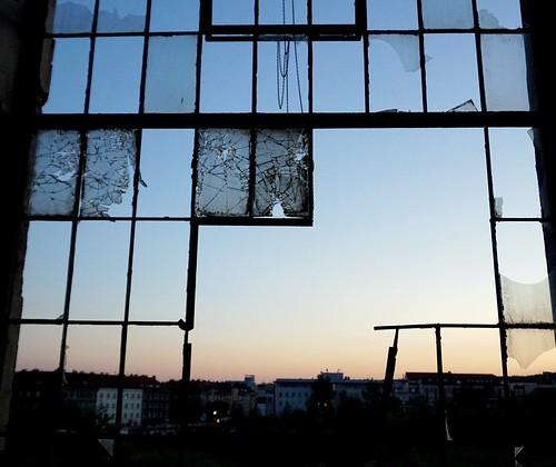 kolbenova abandoned decay forgotten decayed urbex prague praha czechrepublic ceskarepublika window windows sunset architecture