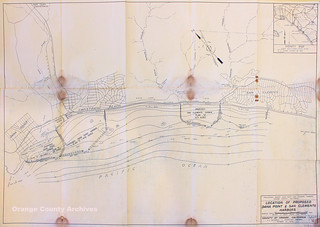 Early plans for Dana Point and San Clemente Harbors