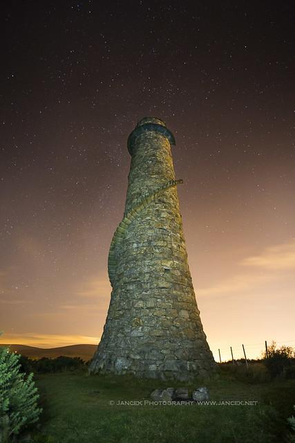 Leadmines Chimney, Ballycorus Leadmines, Ireland