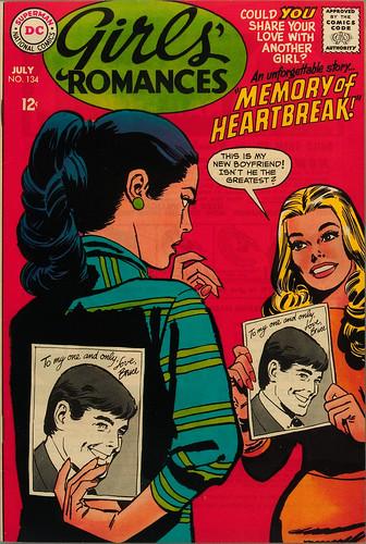 JIM PIKE (Jay Scott Pike)   GIRLS ROMANCES 134 : By