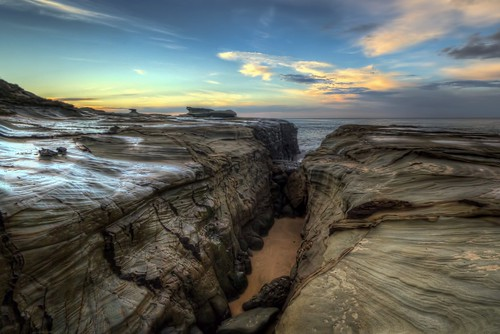 ocean sky seascape clouds seaside rocks spoonbay rockshelves