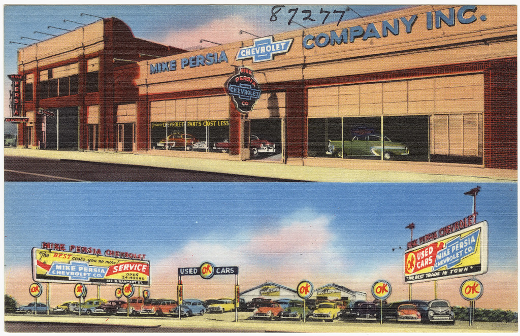 Mike Persia Chevrolet Co 300 Block N Rampart St New O Flickr