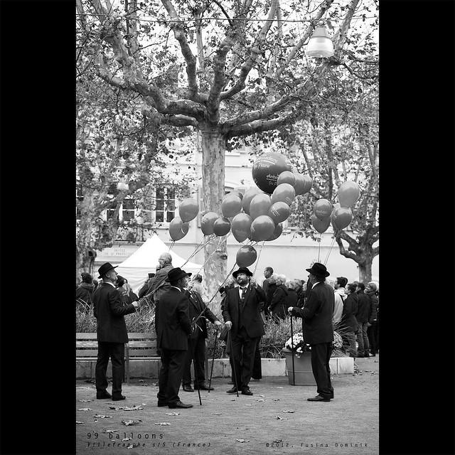 99 luftballoons | Villefranche s/S