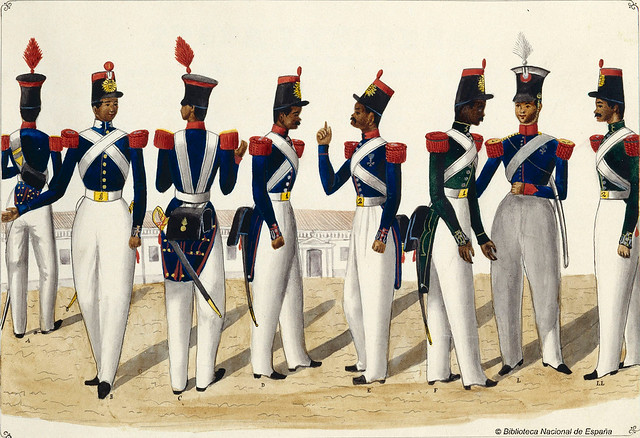 Carabineros de la Real Hacienda, 1847