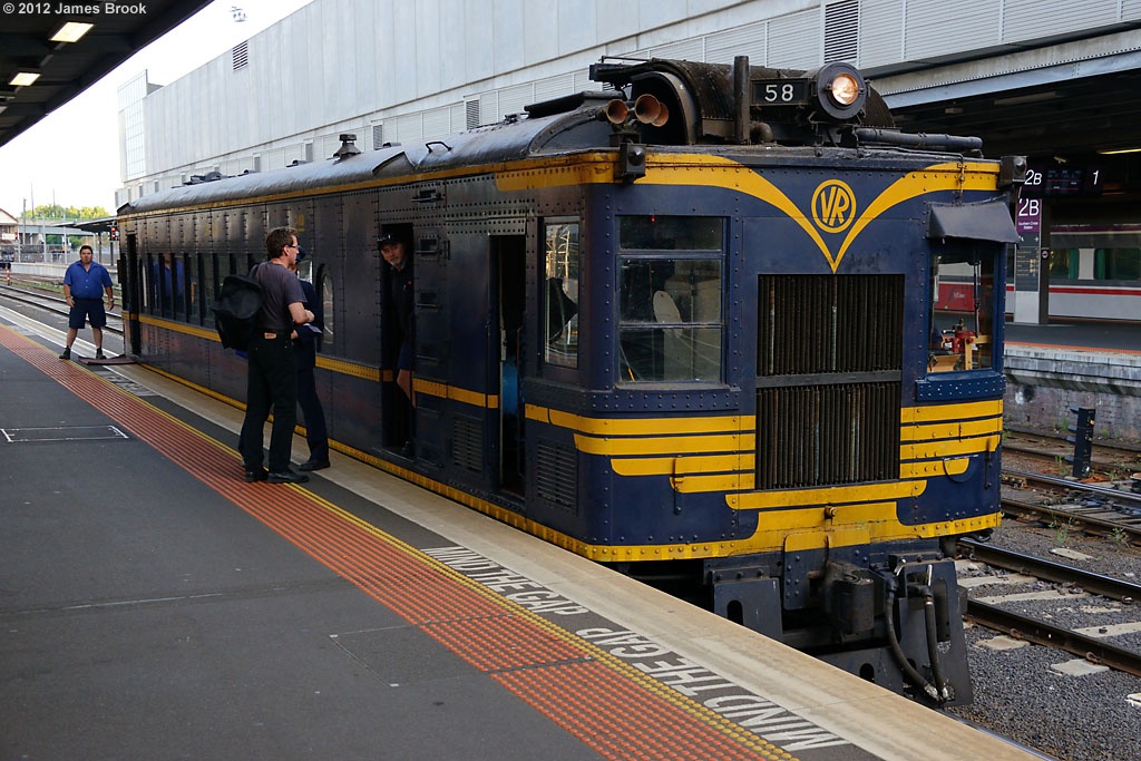 58RM at Southern Cross with 8193 by James Brook