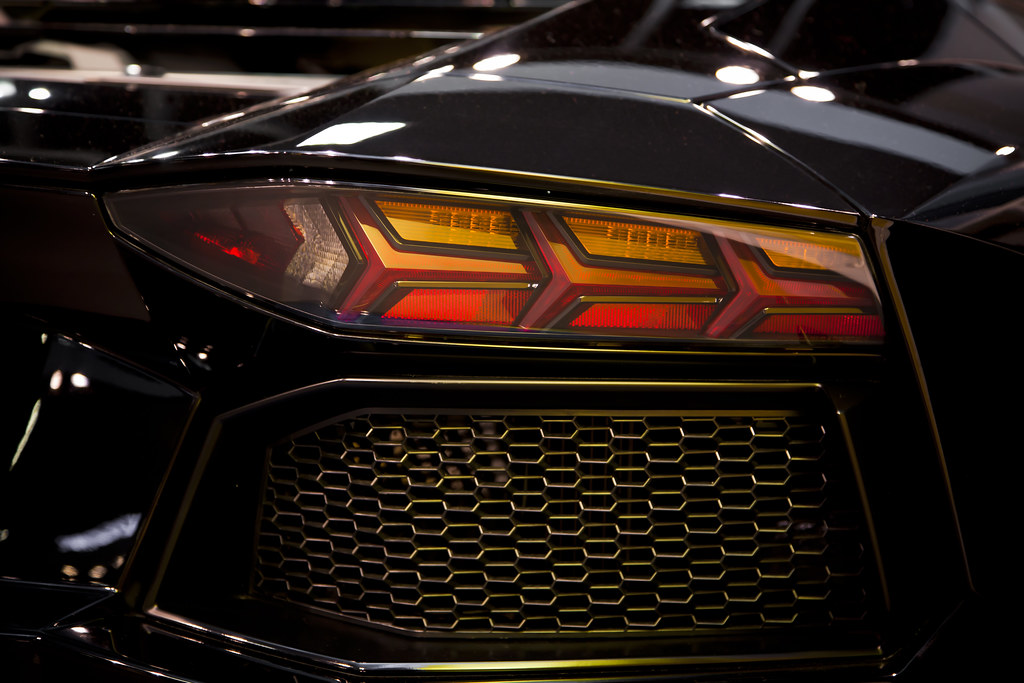 Lamborghini Aventador Tail Light Andy Graber Flickr