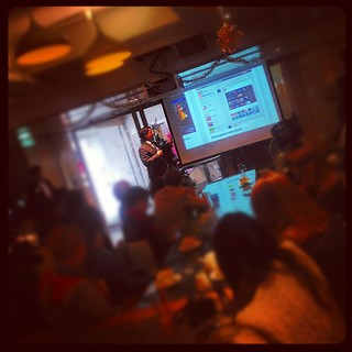 @JayOatway up with his @prezi for the 2012 review at #HKSocial @pinterest wins!