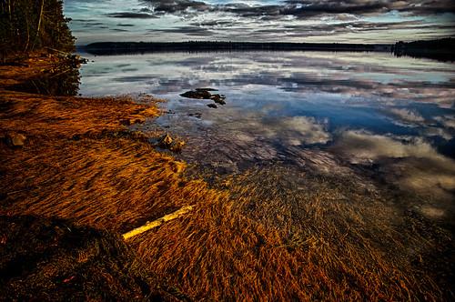 weather clouds sunrise maine manipulations hdr highdynamicrange gouldsboro hancockcounty binnshire