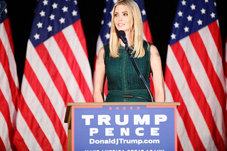 Ivanka Trump | by Michael Vadon