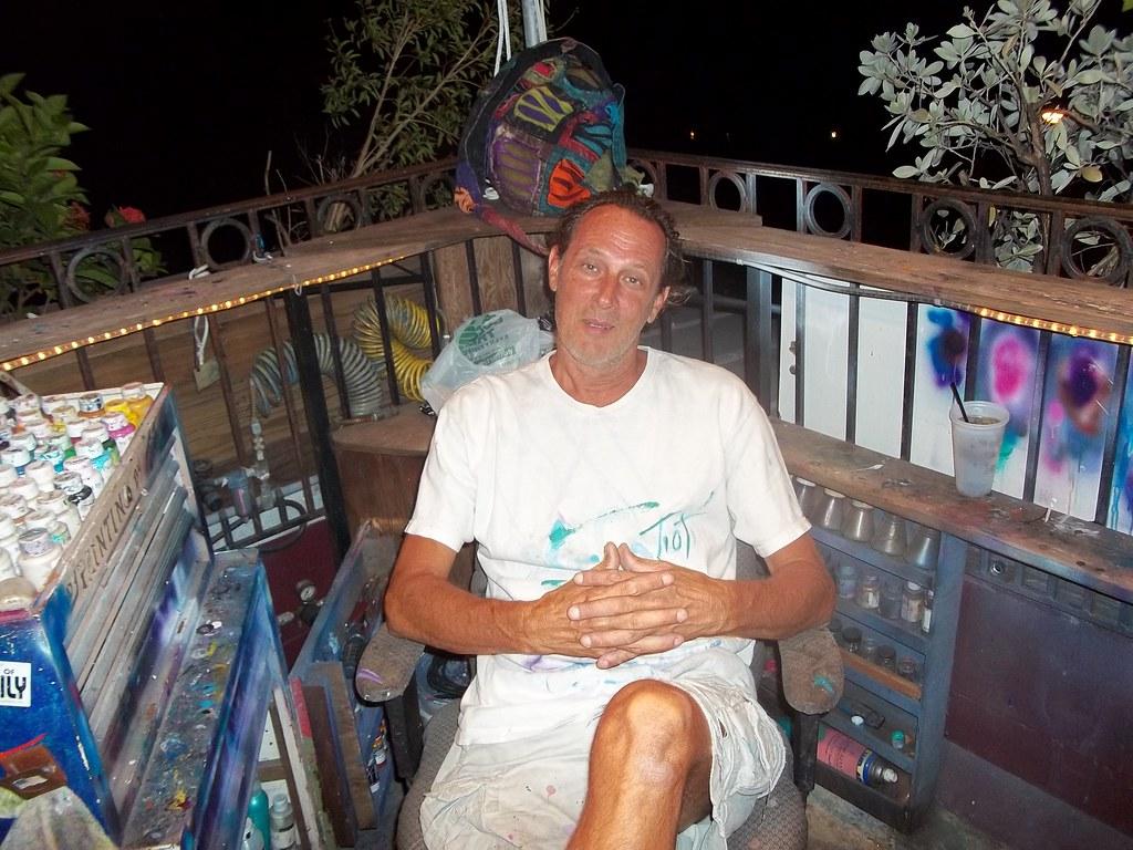 Body Artist Tioti Garden Of Eden Key West Tioti Making Fa Flickr