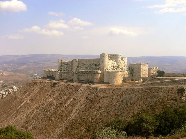 Crac des Chevaliers, Syria