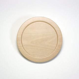 甲斐のぶお工房「木製デザート皿/タイプD」 | by bazartjp