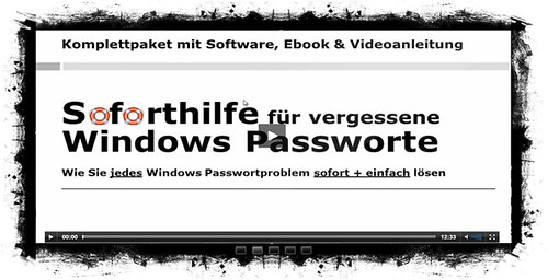 Win7 Passwort Vergessen