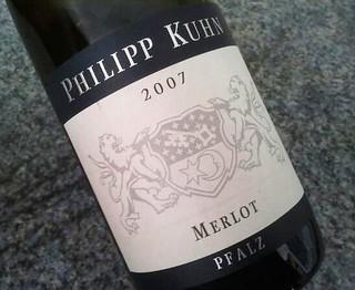 Philipp Kuhn Merlot | by Blind Tasting Club