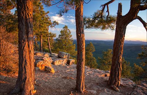mogollonrim arizona sunset landscape canon t2i 550d stickneydesign lifelover4 leefilters efs1755mmf28isusm circularpolarizer hughstickney