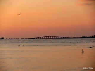 Sanibel Causeway Sunset | by Erin *~*~*