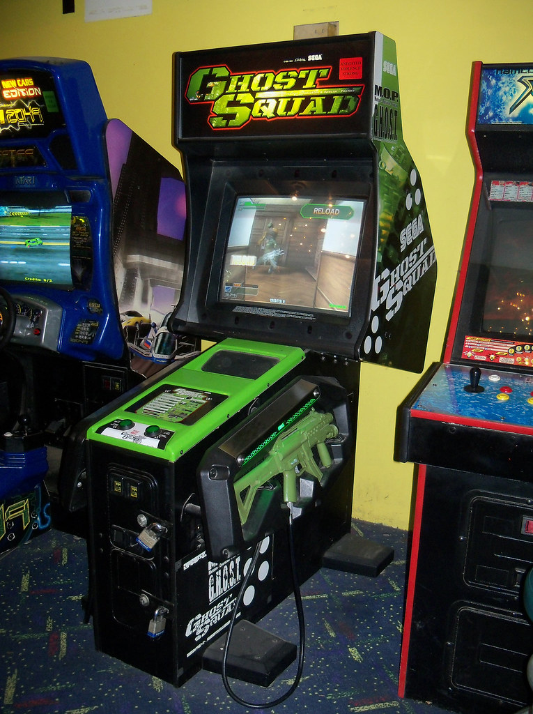 Ghost Squad Arcade Game