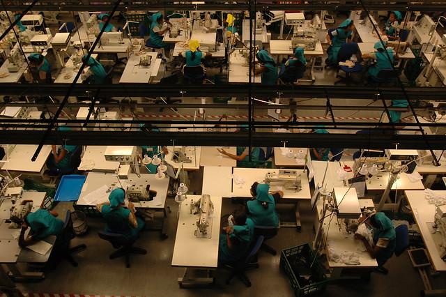 Garment factory, Sri Lanka