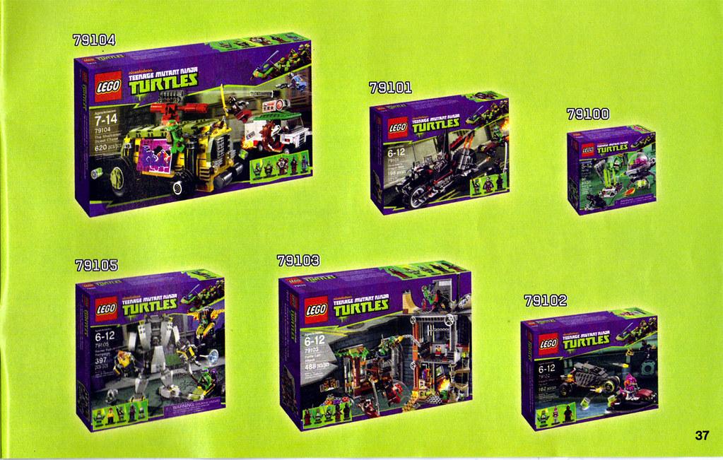 "LEGO Teenage Mutant Ninja Turtles :: ""Stealth Shell in Pursuit"" ; manual iv (( 2013 )) by tOkKa"